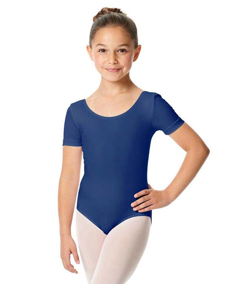 Child Short Sleeve Ballet Leotard Lauretta UMA