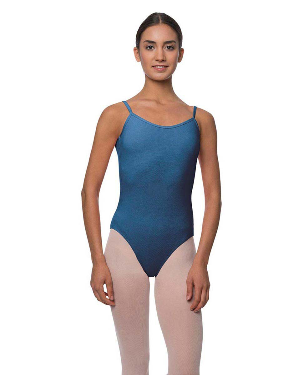 Adults Velvety Camisole Ballet Leotard Lily BLUE