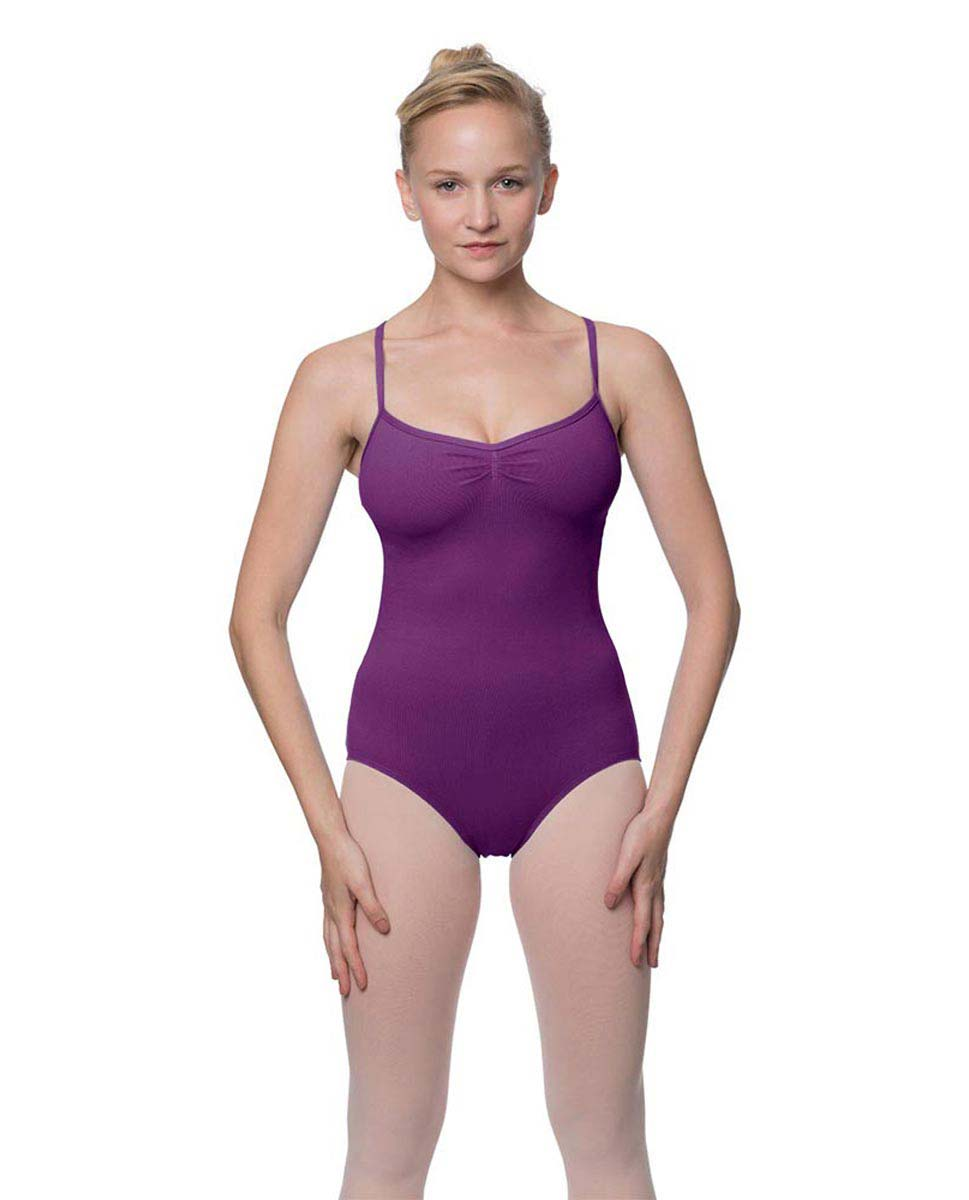 Adults X-Back Camisole Dance Leotard Nell GRAP