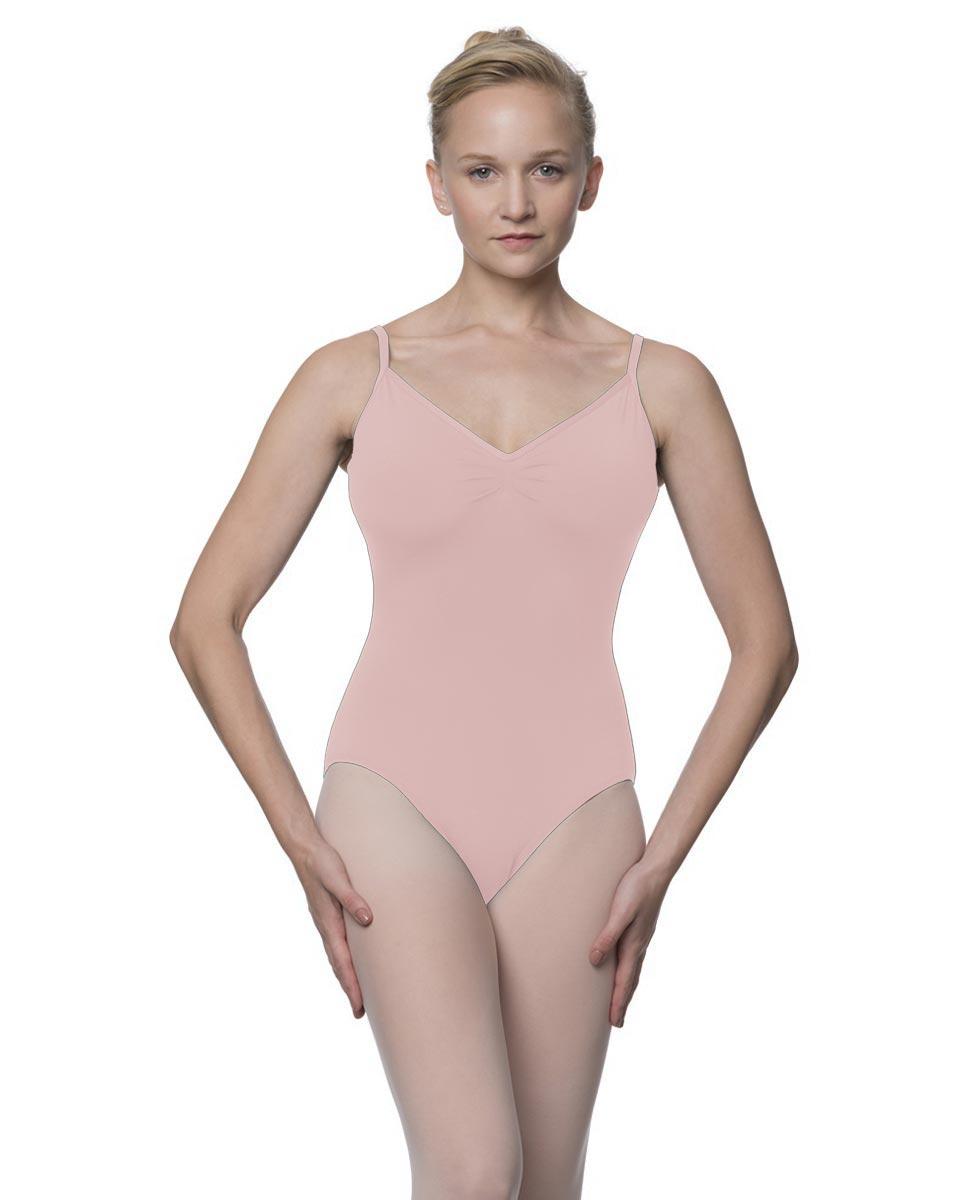 Womens V-Back Camisole Ballet Leotard Malinda LPNK