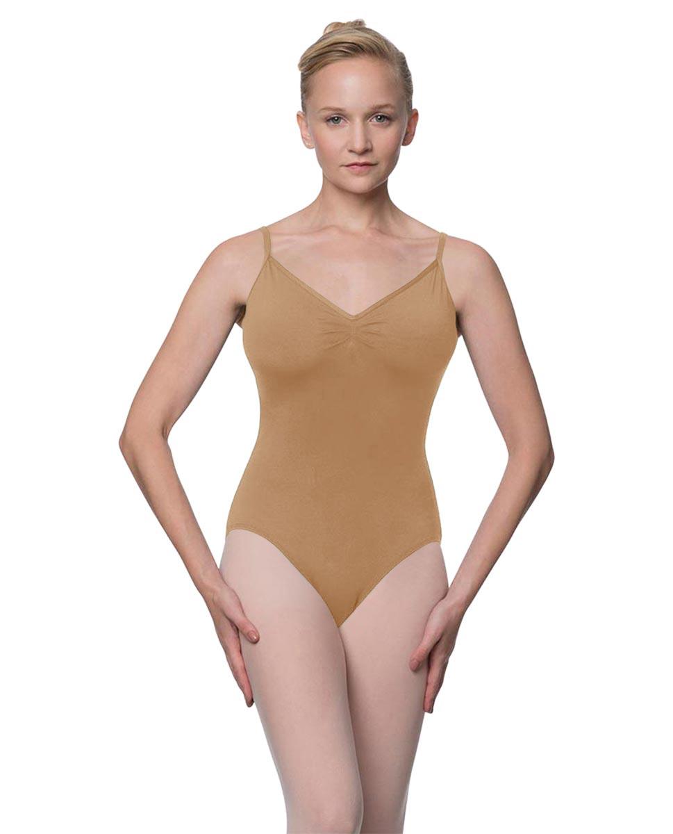 Womens V-Back Camisole Ballet Leotard Malinda NUD