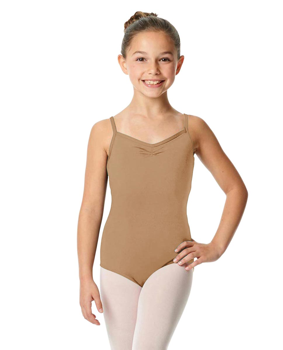 Child V-Back Camisole Dance Leotard Malinda NUD