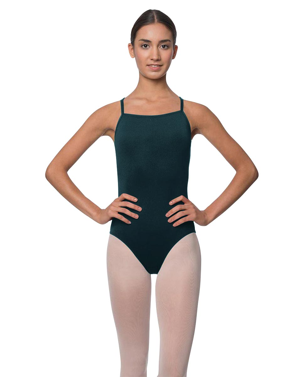 Adults Camisole Deep X-Back Ballet Leotard Raine DTEAL