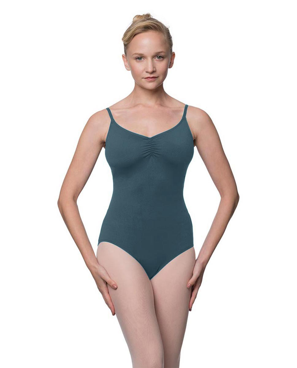 Womens Adjustable Straps Camisole Ballet Leotard Nadia JEANS
