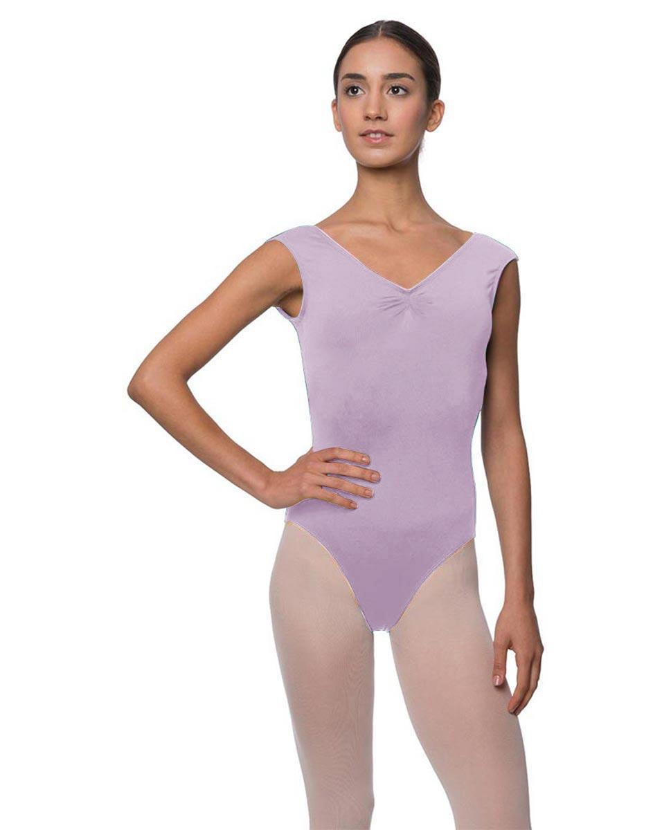 Womens Pinch Front Cap Sleeve Ballet Leotard Reyton LIL