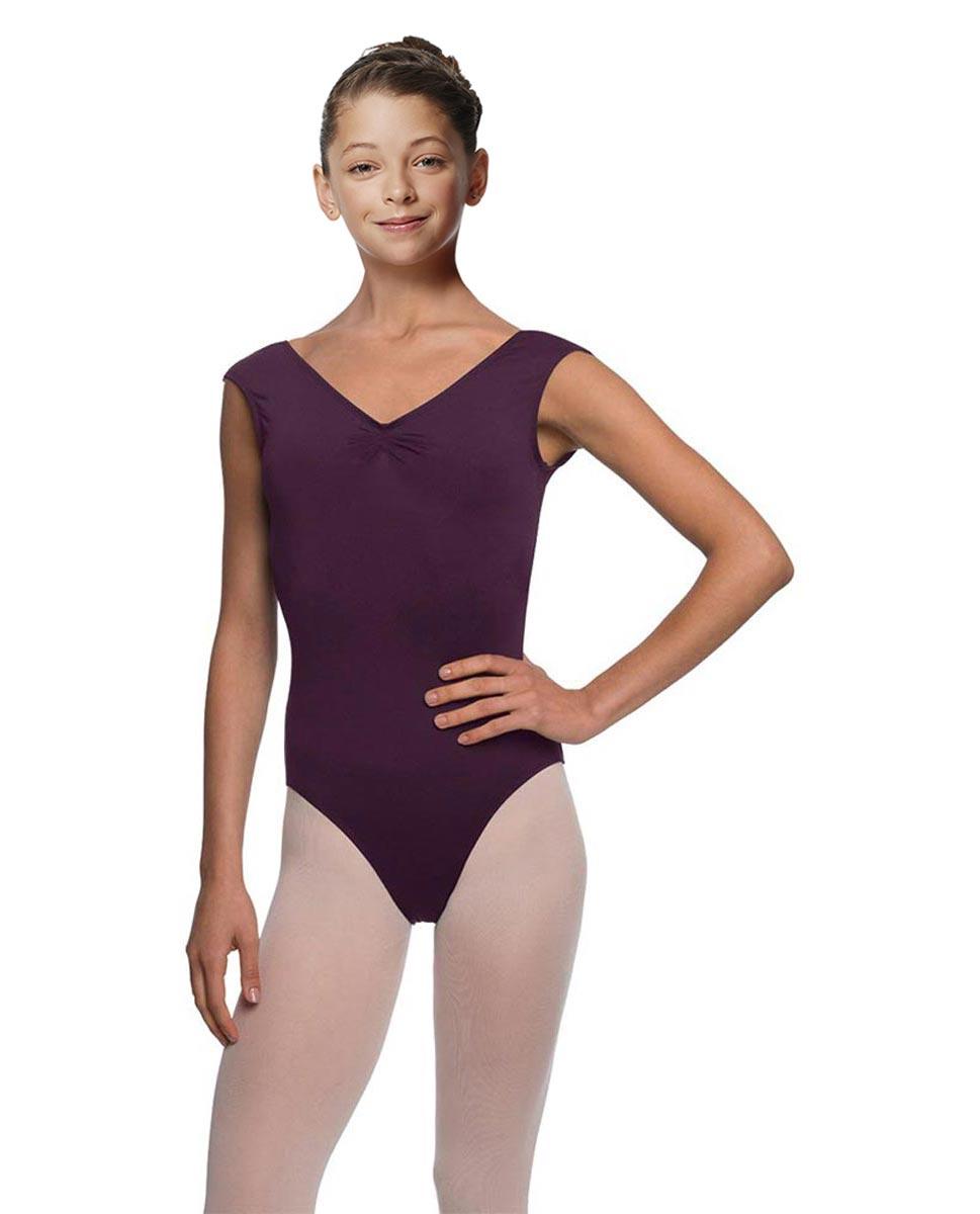 Girls Cap Sleeve Ballet Leotard Reyton AUB