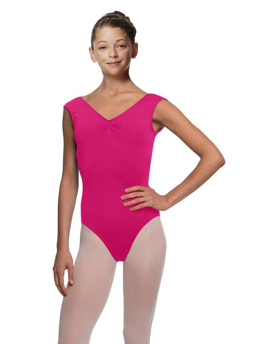 Girls Cap Sleeve Ballet Leotard Reyton FUC