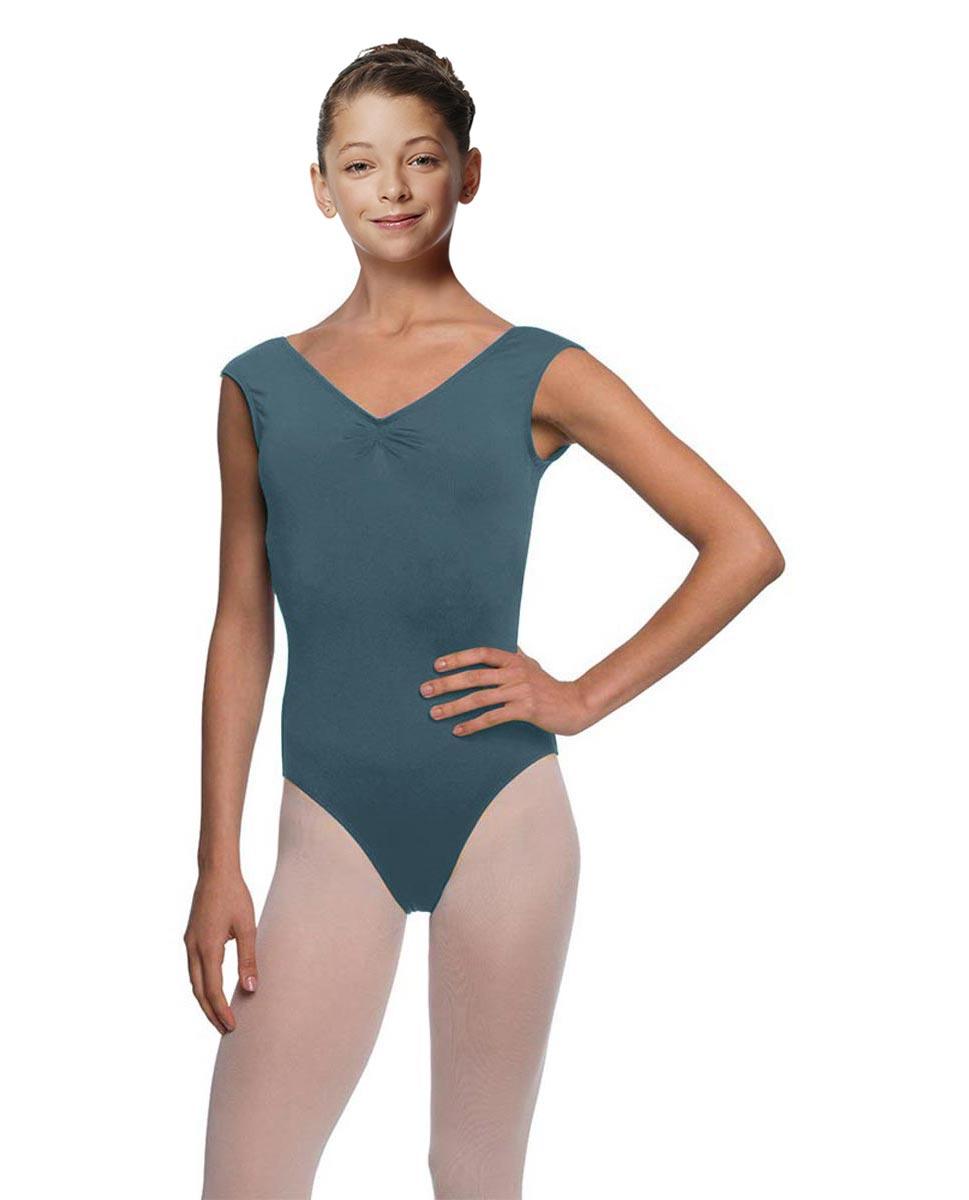 Girls Cap Sleeve Ballet Leotard Reyton JEANS