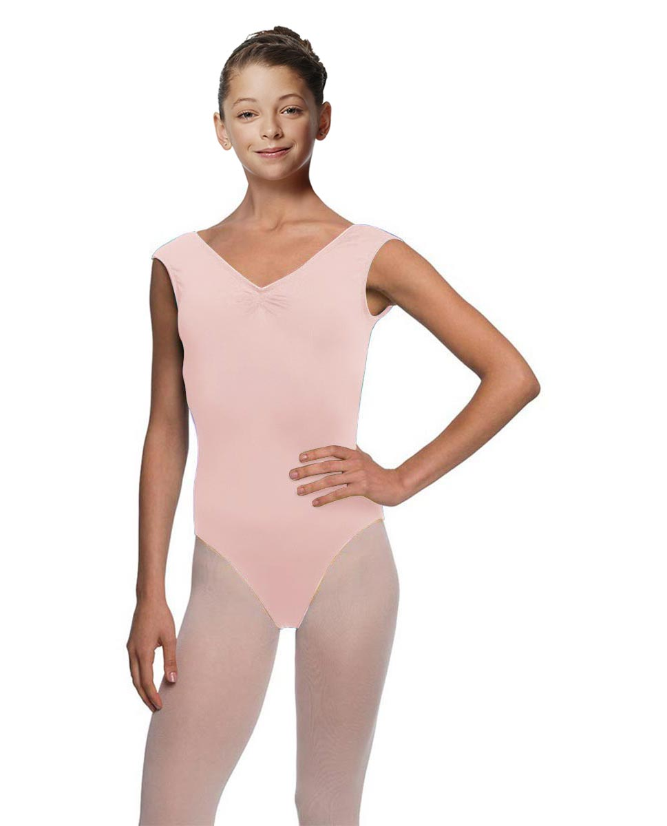 Girls Cap Sleeve Ballet Leotard Reyton LPNK
