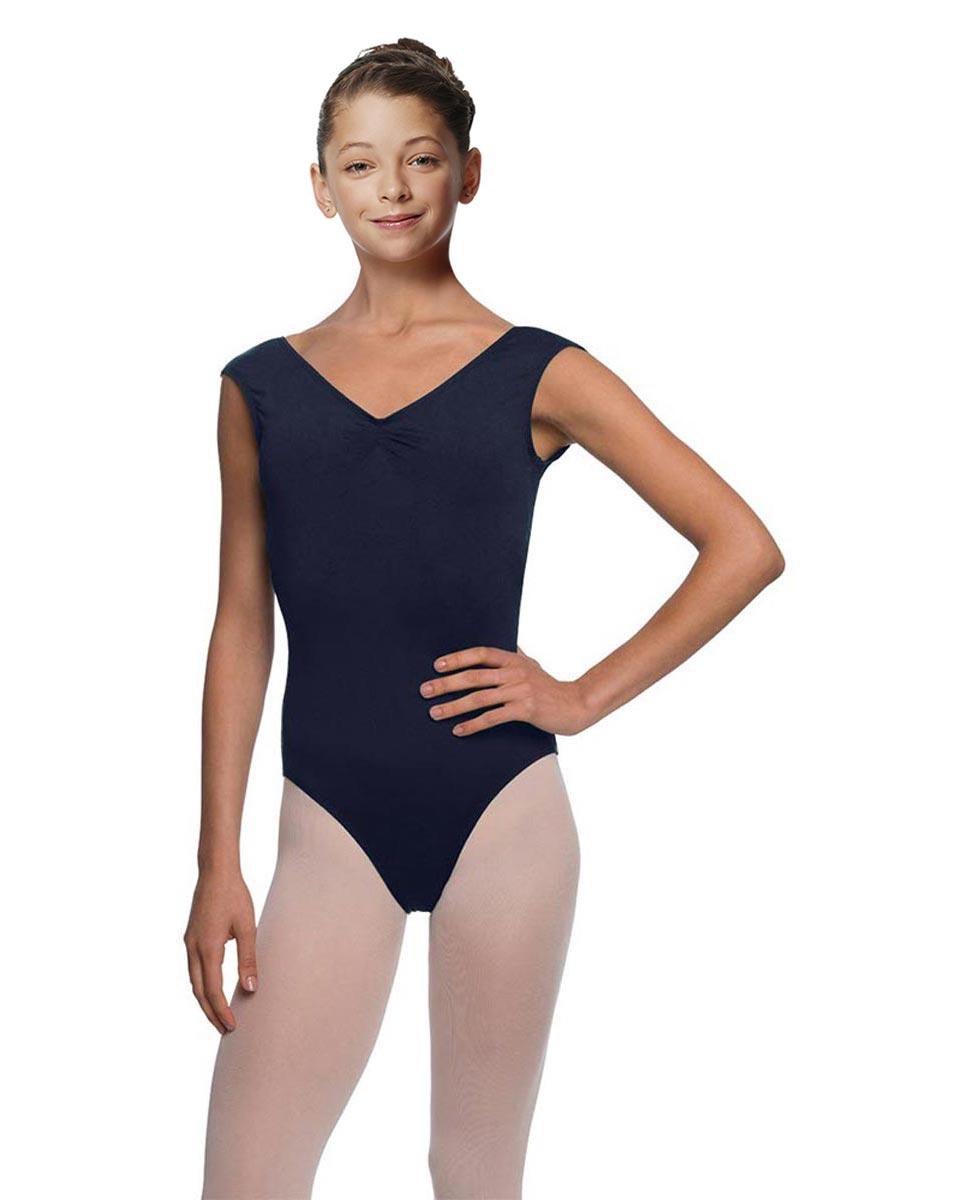 Girls Cap Sleeve Ballet Leotard Reyton NAY