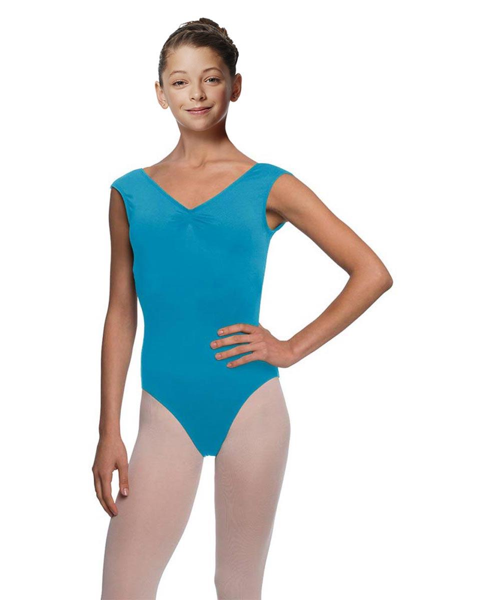 Girls Cap Sleeve Ballet Leotard Reyton TUR