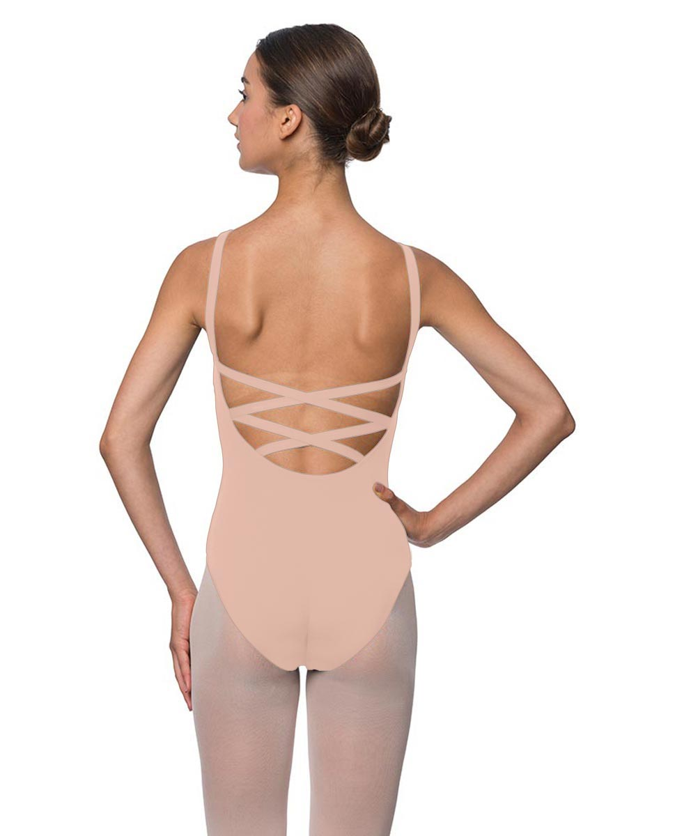Adults Strappy Back Camisole Dance Leotard Veronica LPNK