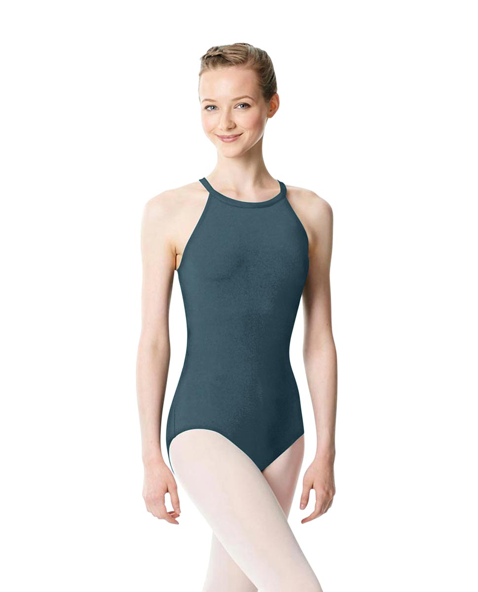 High Neck Tank Dance Leotard Ivana JEANS