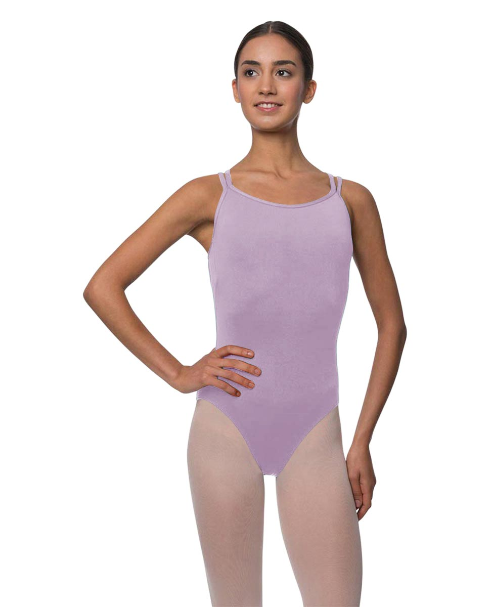 Womens Double Crossed Straps Camisole Dance Leotard Nina LIL