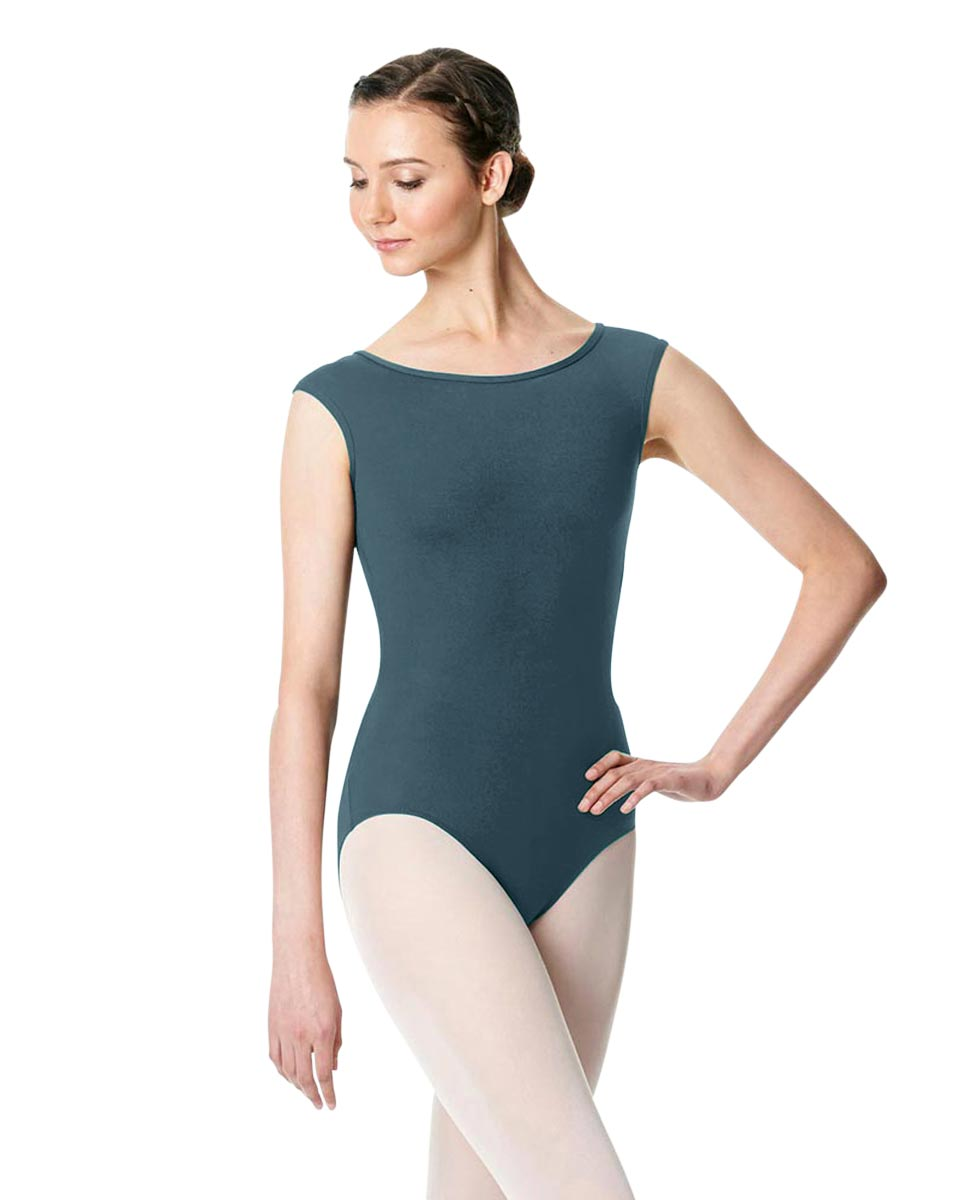 Cap Sleeve Open Back Dance Leotard Farah JEANS