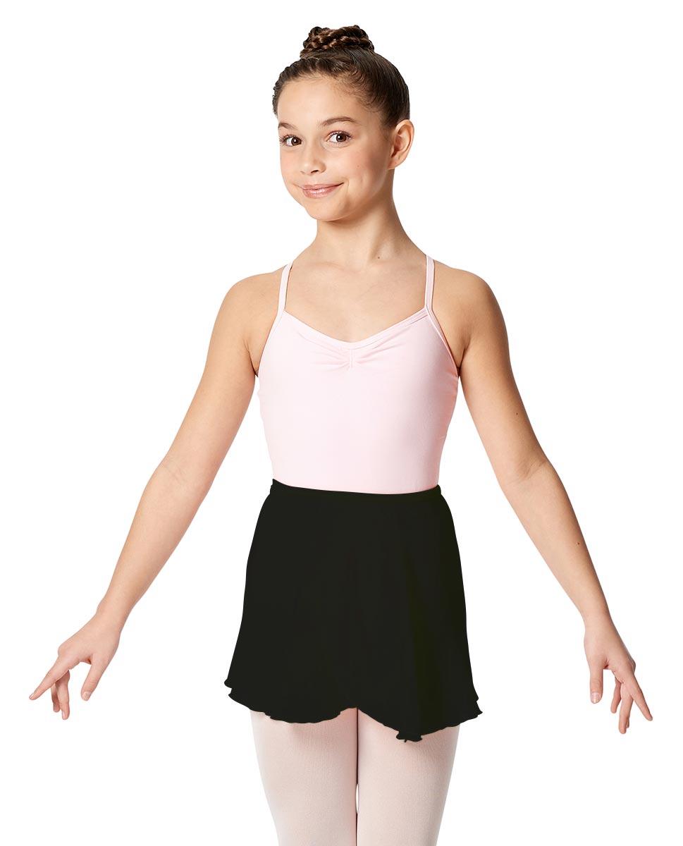 Child Short Wrap Skirt Hailey BLK