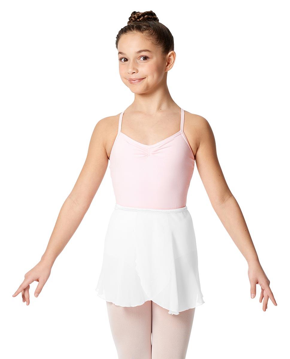 Child Short Wrap Skirt Hailey WHI