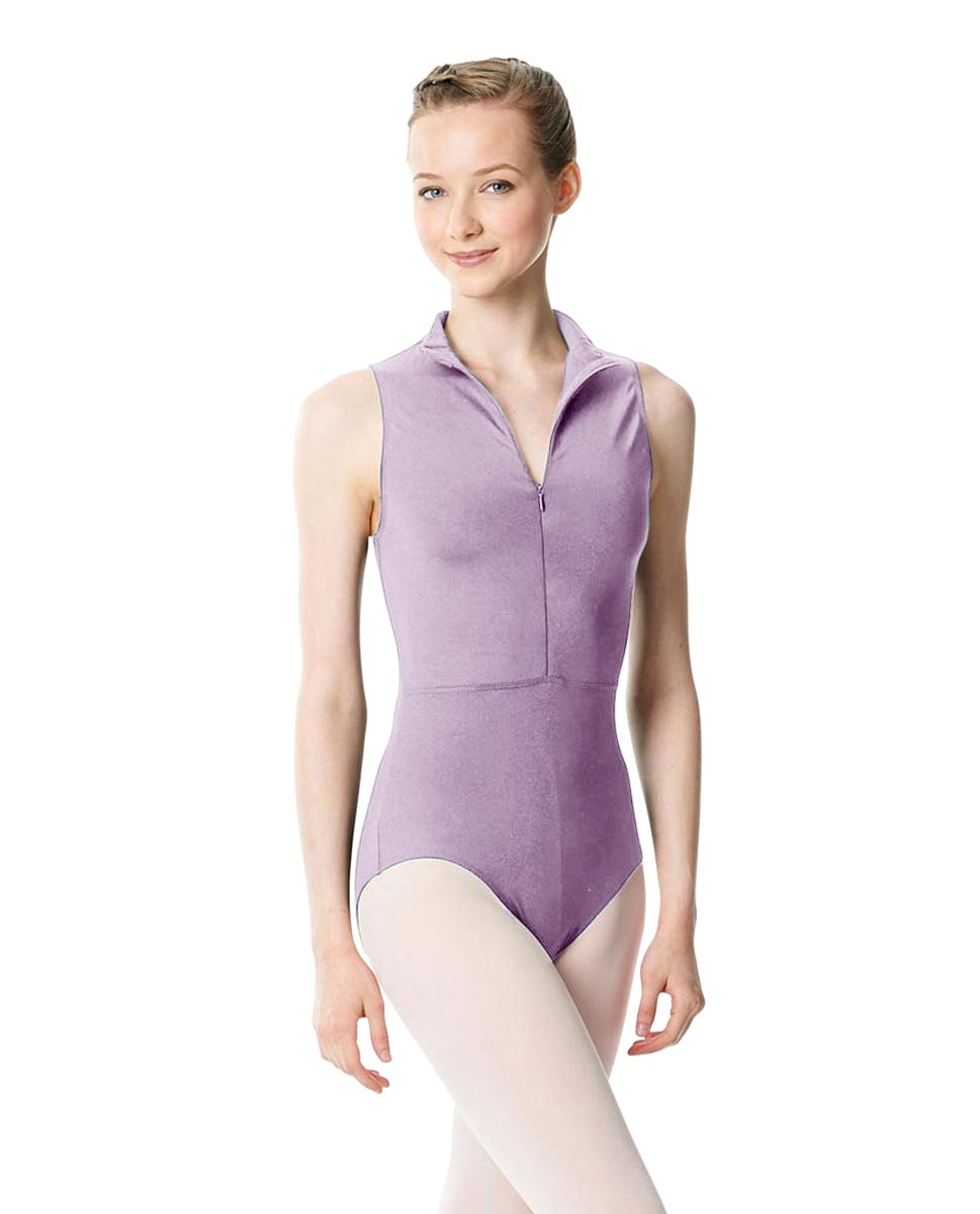Womens Turtleneck Front Zipper Dance Leotard Leah LIL