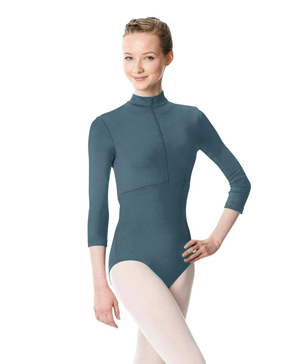 Long Sleeve Zipper Dance Leotard Eliana JEANS