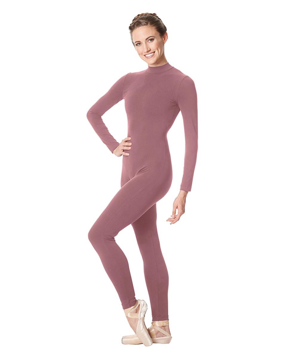 Adult Long Sleeve Mock Neck Dance Unitard Annabelle DROS