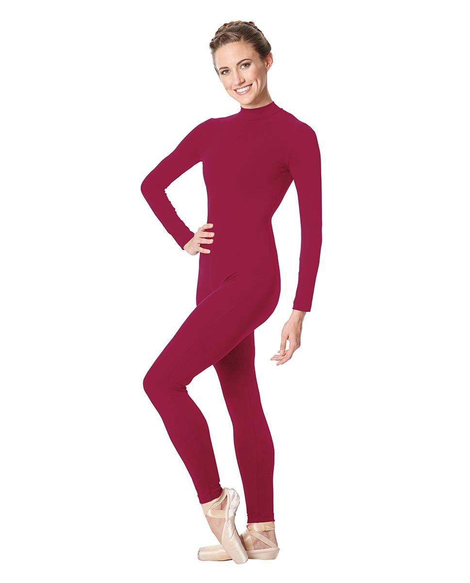 Adult Long Sleeve Mock Neck Dance Unitard Annabelle FUC