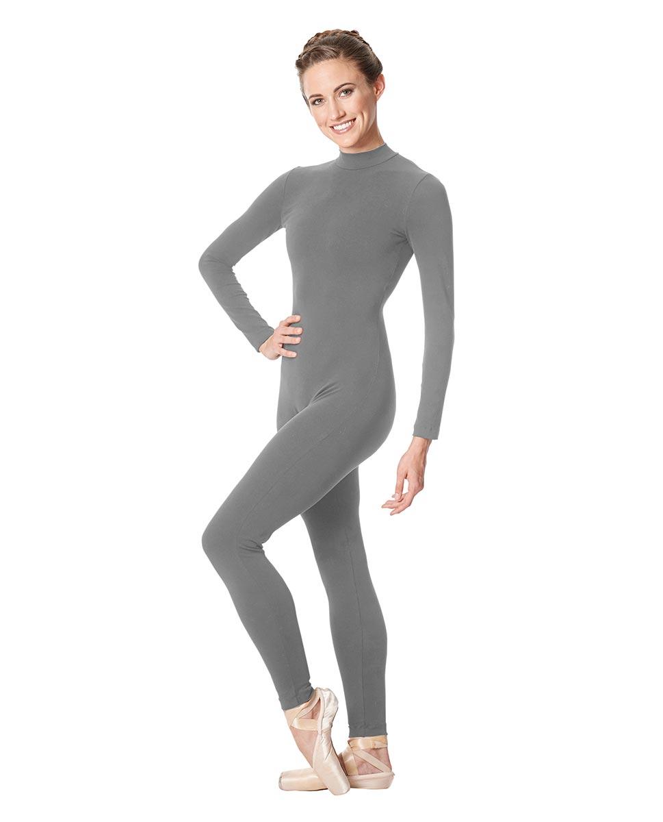 Adult Long Sleeve Mock Neck Dance Unitard Annabelle GRE