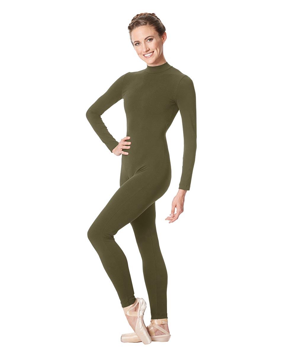 Adult Long Sleeve Mock Neck Dance Unitard Annabelle KHA