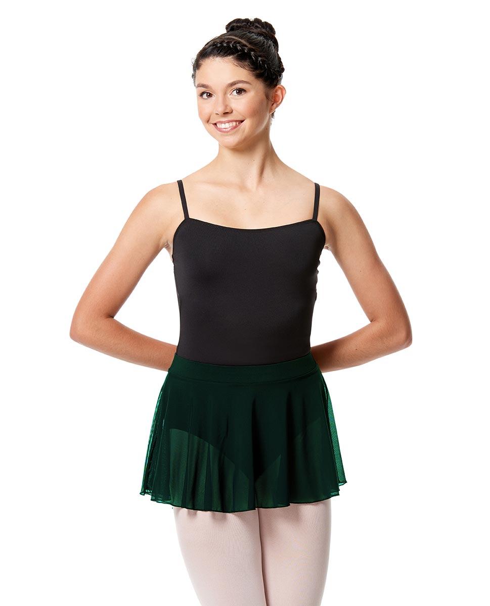 Pull On Dance Skirt Hania  DGREEN