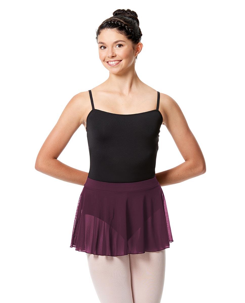 Pull On Dance Skirt Hania  WINE
