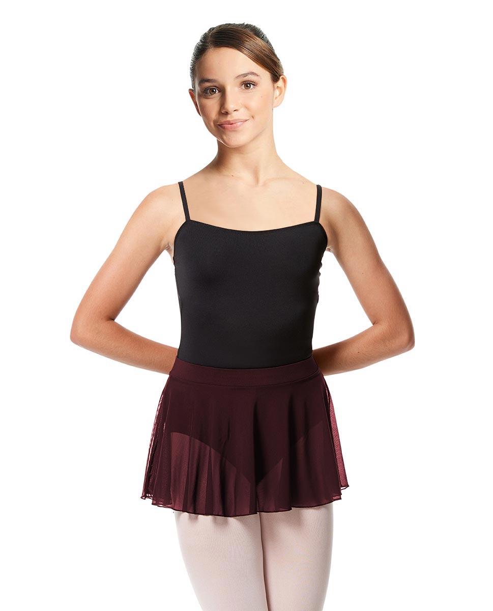 Girls Mesh Skirt Hania with Wide Elastic Waist Band BUR