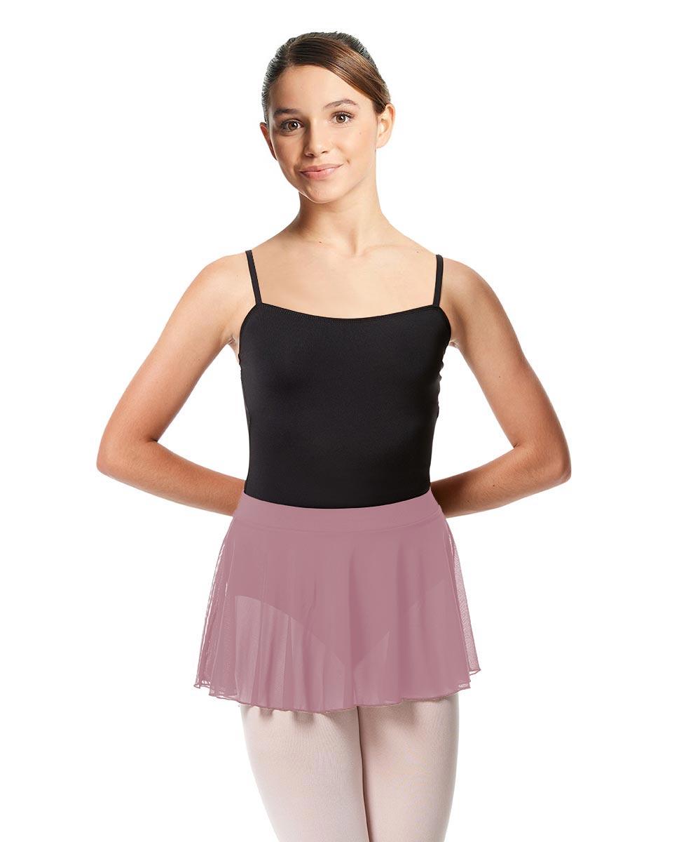 Girls Mesh Skirt Hania with Wide Elastic Waist Band DROS