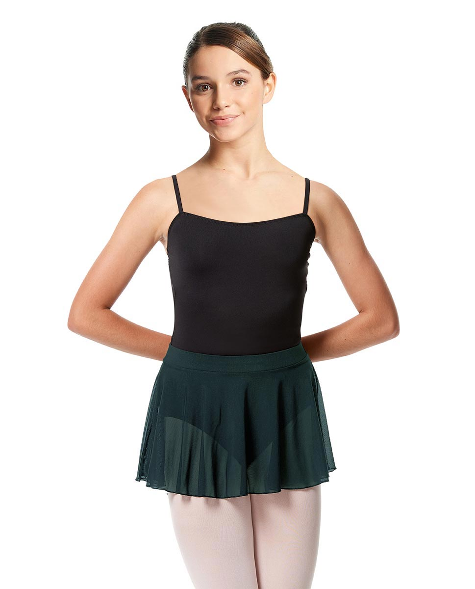 Girls Mesh Skirt Hania with Wide Elastic Waist Band DTEAL