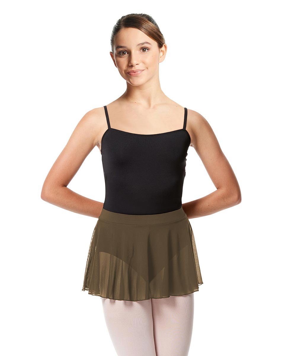 Girls Mesh Skirt Hania with Wide Elastic Waist Band KHA