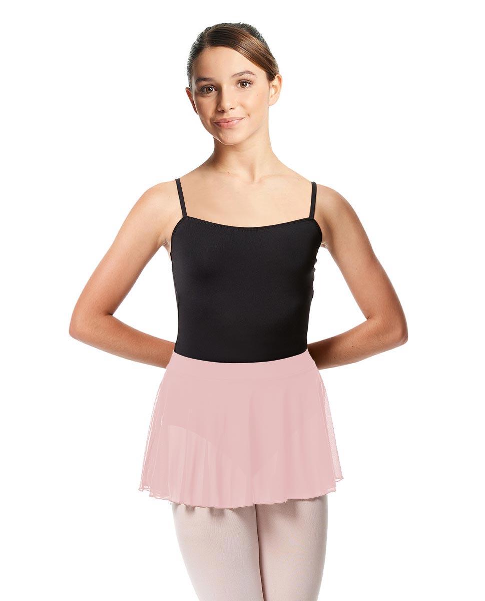 Girls Mesh Skirt Hania with Wide Elastic Waist Band LPNK