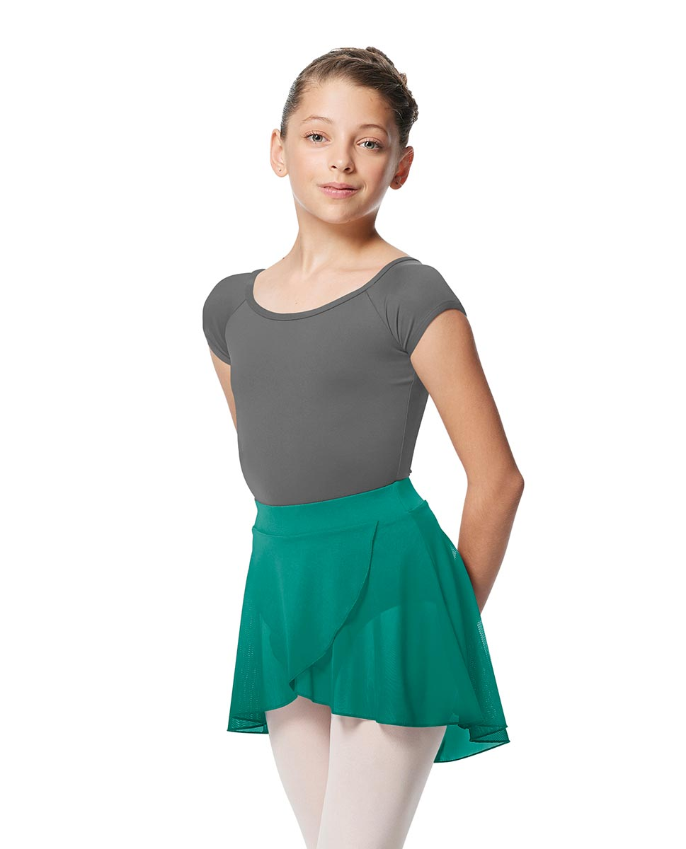 Child Pull on Wrap Dance Skirt Natasha JAD