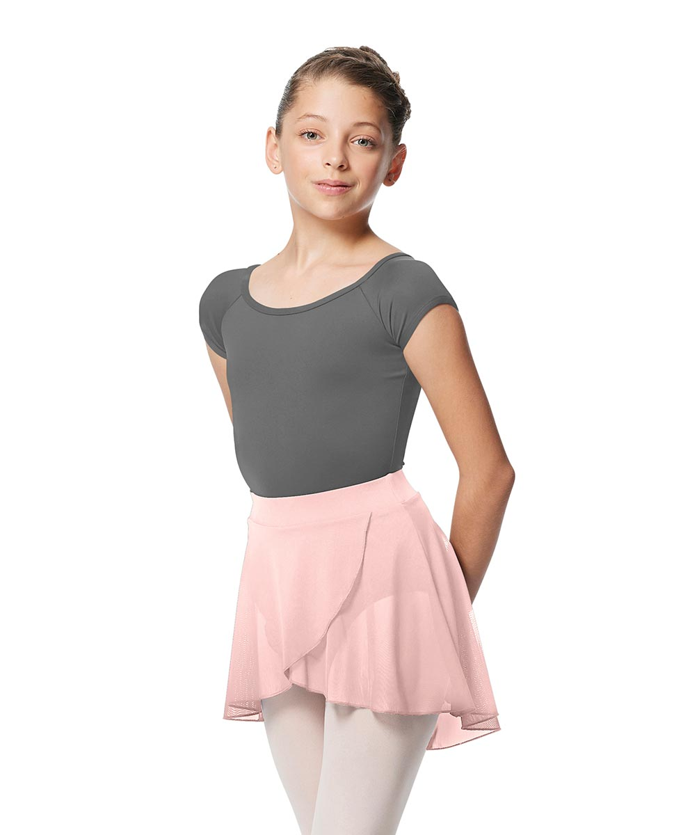 Child Pull on Wrap Dance Skirt Natasha LPNK