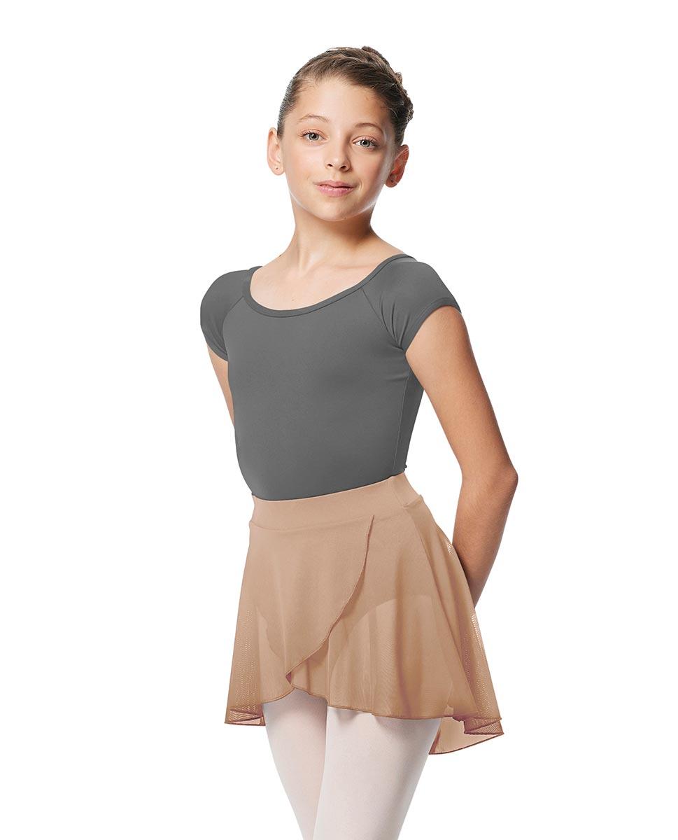 Child Pull on Wrap Dance Skirt Natasha NUD
