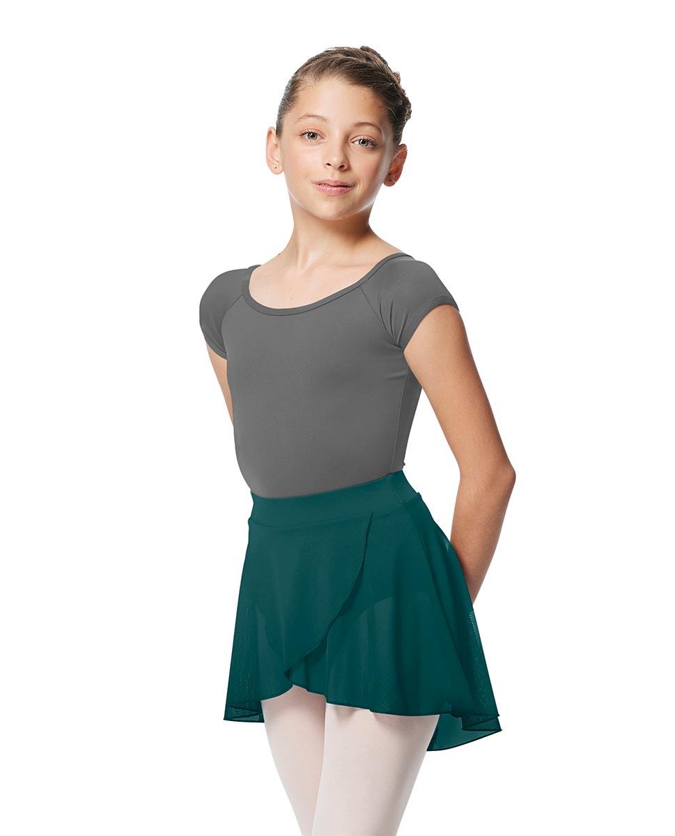 Child Pull on Wrap Dance Skirt Natasha TEA
