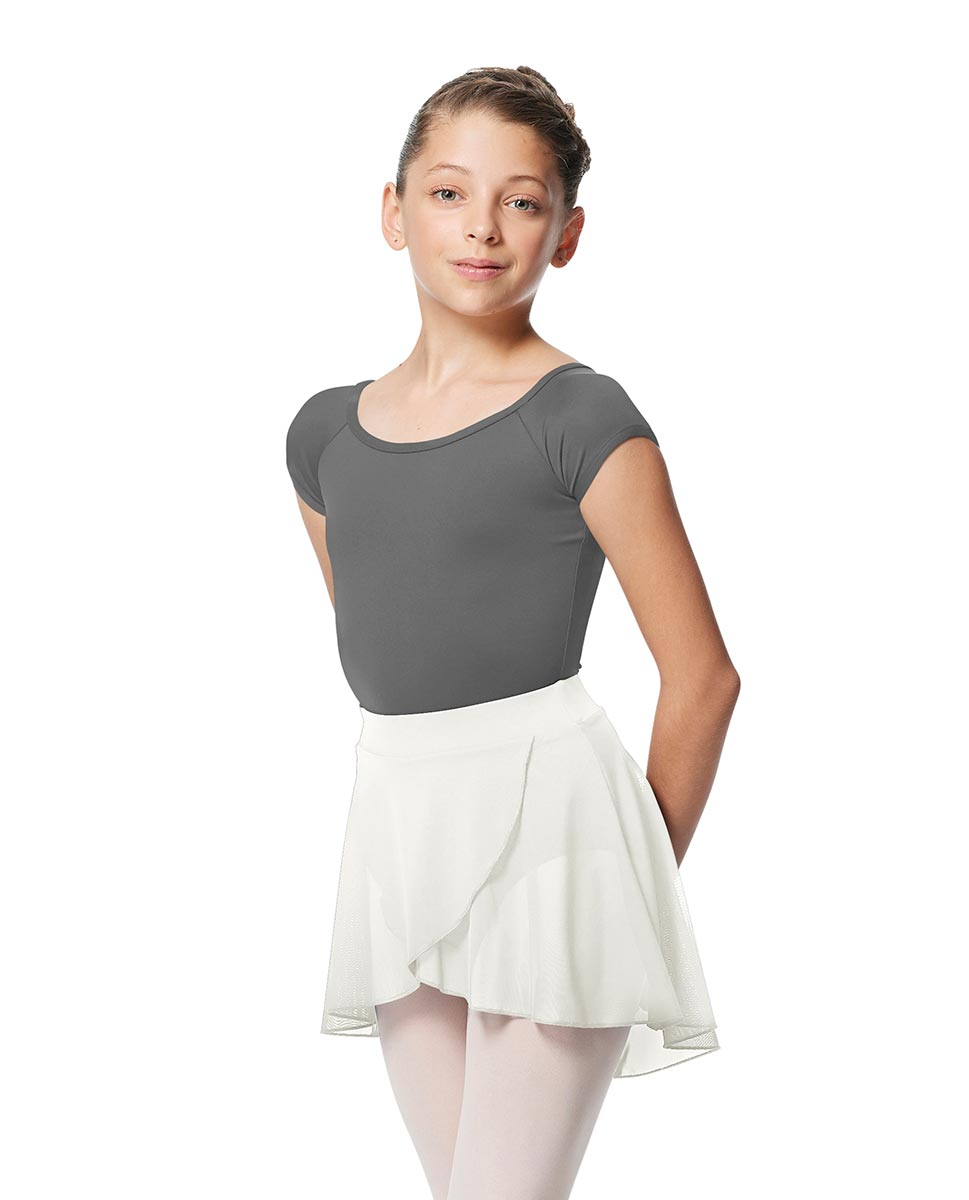 Child Pull on Wrap Dance Skirt Natasha WHI