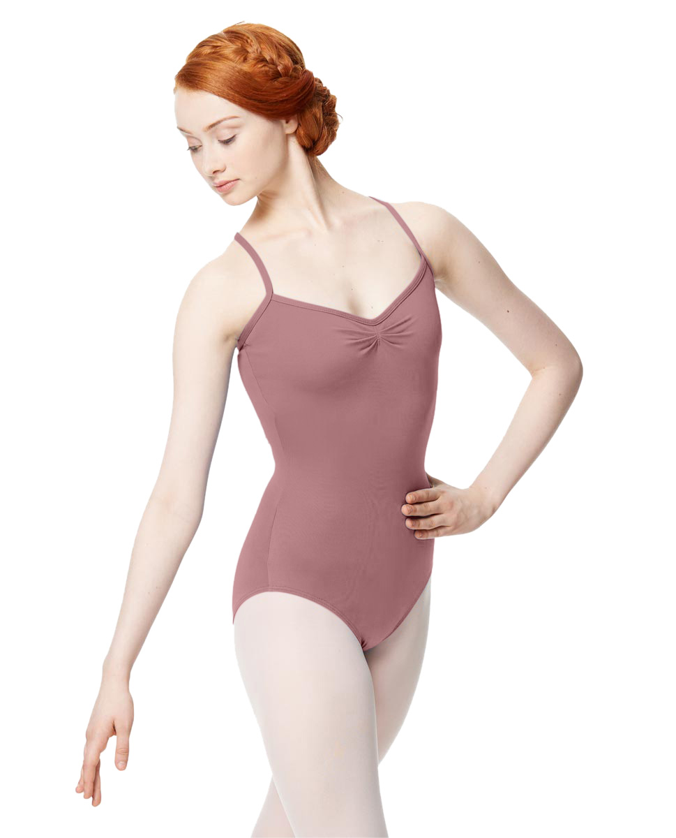 Adult Microfiber Pinched Front Camisole Leotard Alair DROS