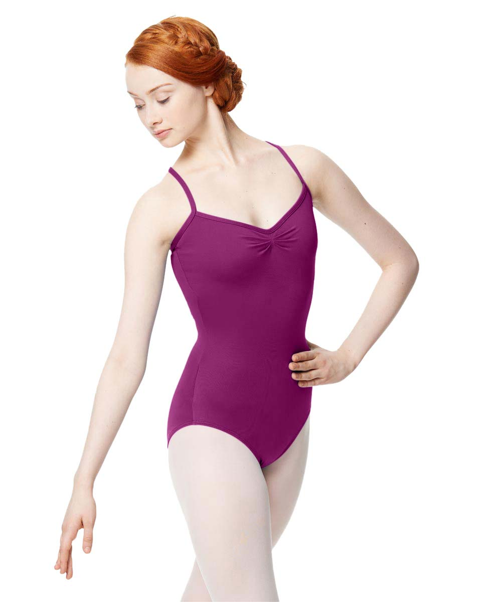 Adult Microfiber Pinched Front Camisole Leotard Alair GRAP