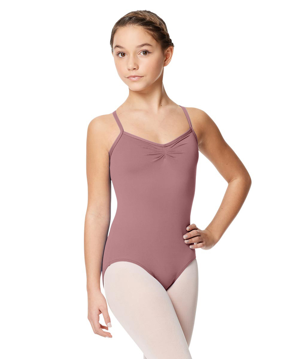Child Microfiber Pinched Front Camisole Leotard Alair DROS