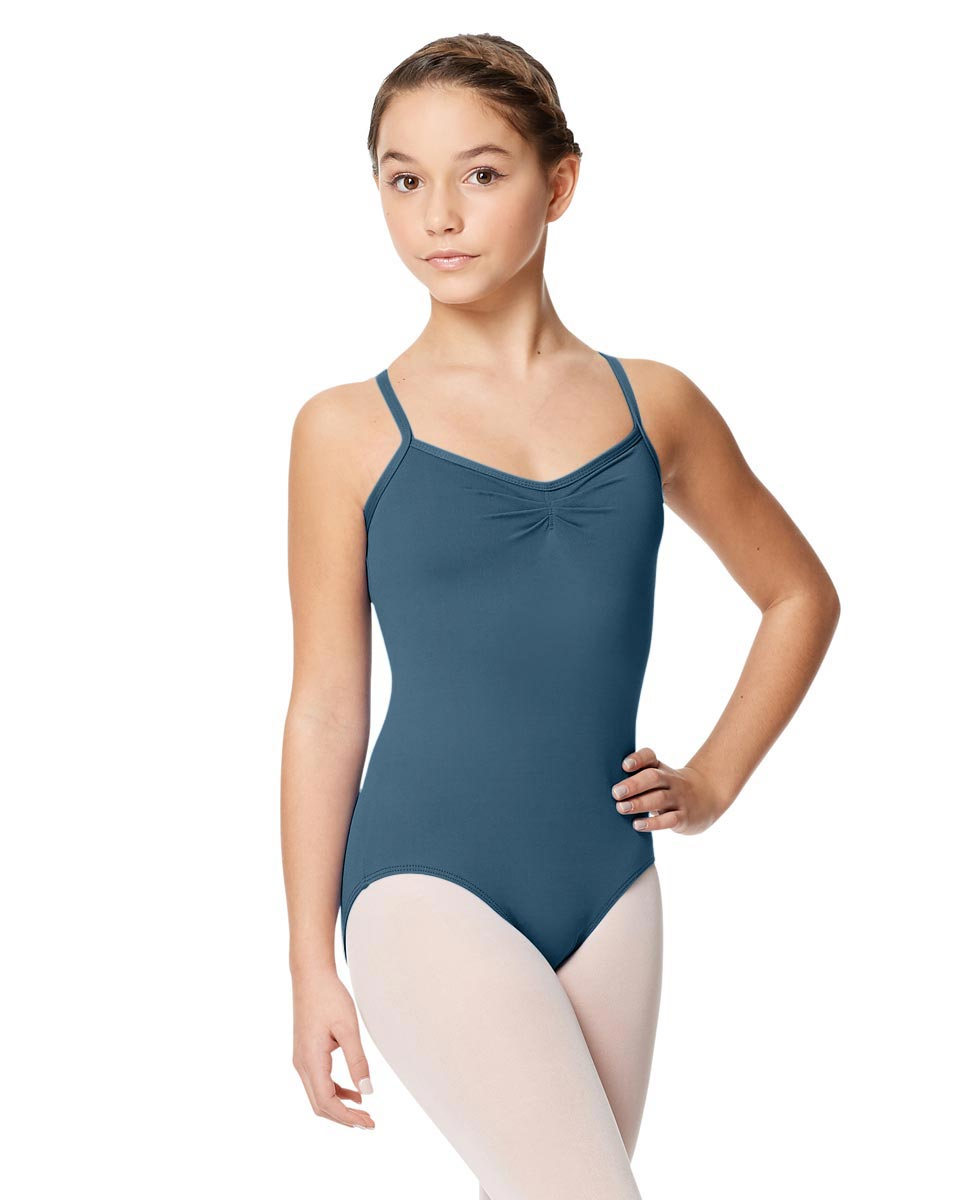 Child Microfiber Pinched Front Camisole Leotard Alair JEANS
