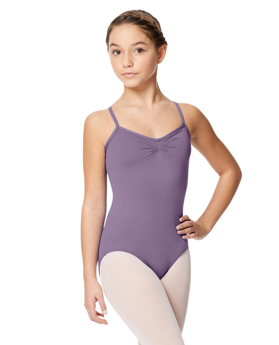 Child Microfiber Pinched Front Camisole Leotard Alair LAV