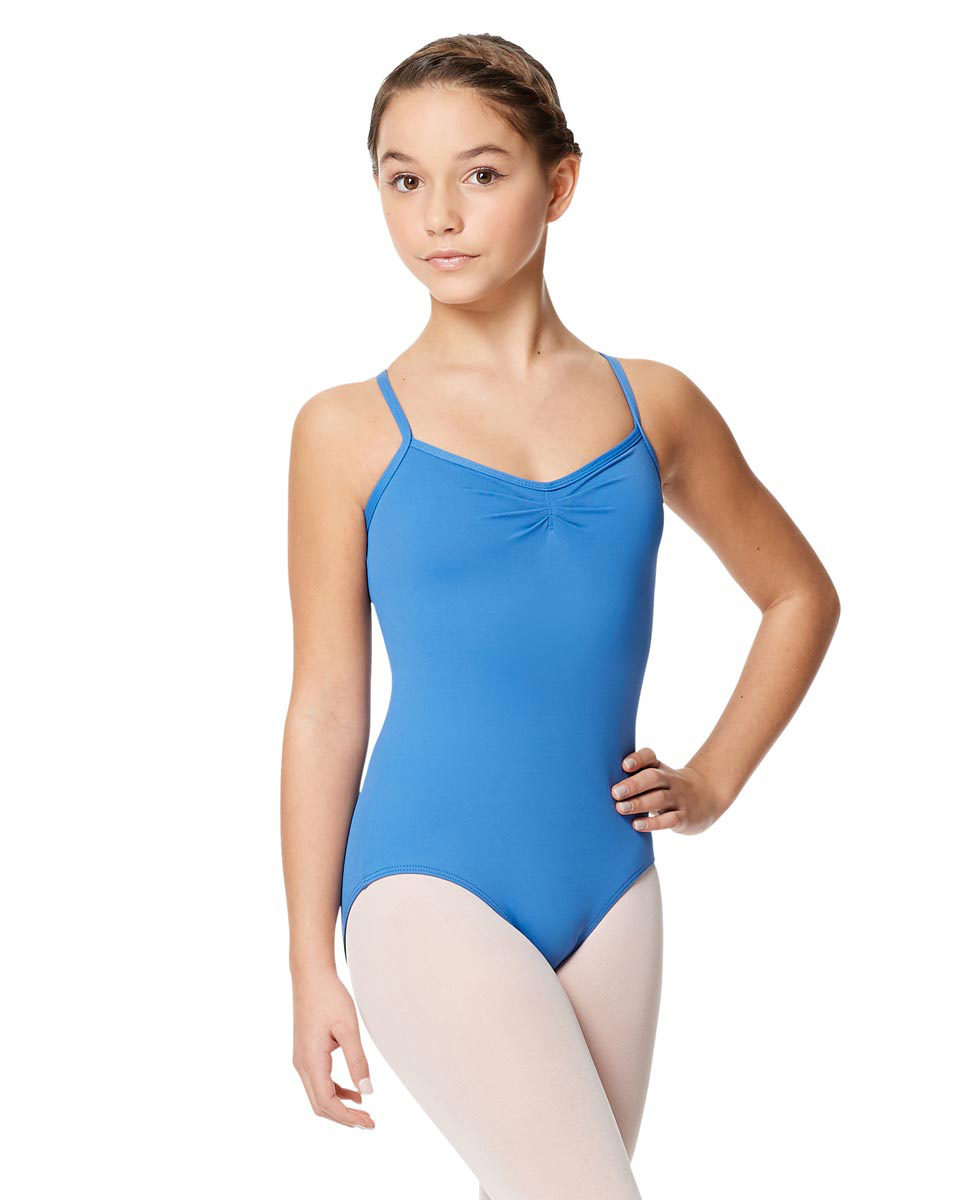 Child Microfiber Pinched Front Camisole Leotard Alair TUR