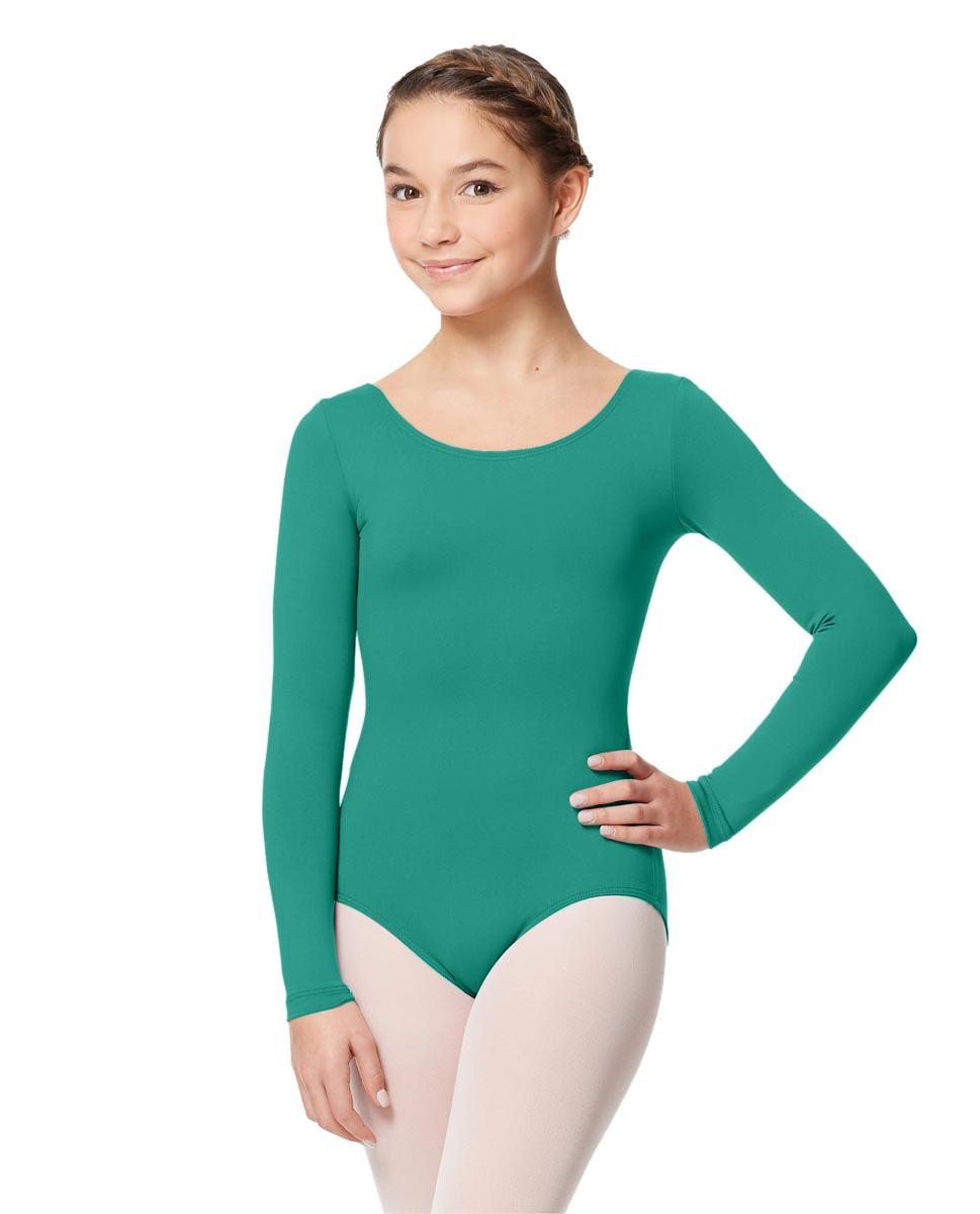 Long Sleeve Girl Dance Leotard Inez JAD