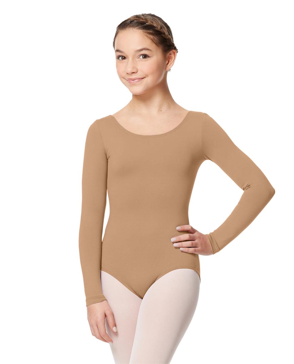 Long Sleeve Girl Dance Leotard Inez NUD