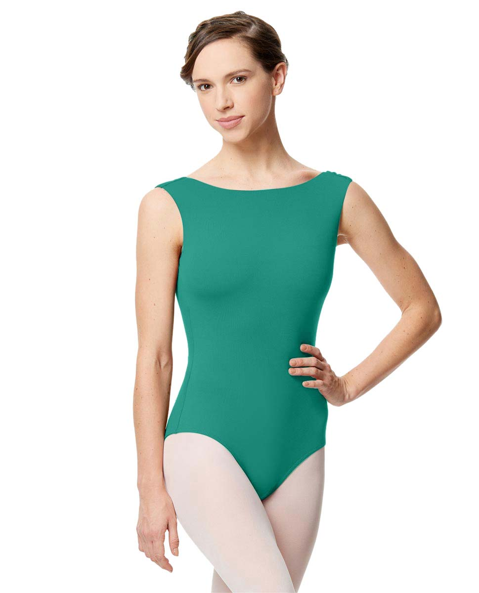 Adult Microfiber Low Back Tank Leotard Katia JAD