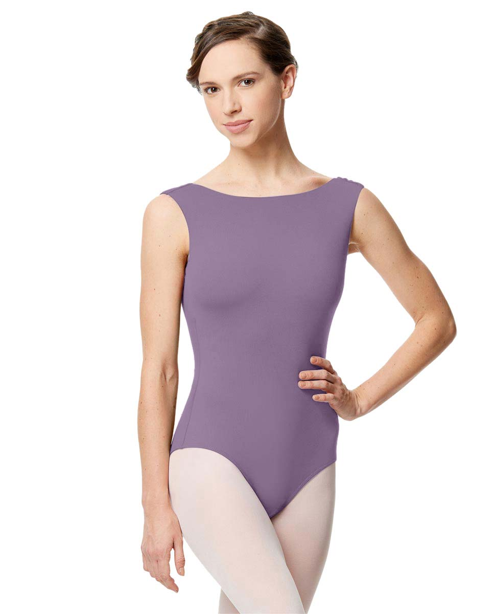 Adult Microfiber Low Back Tank Leotard Katia LAV