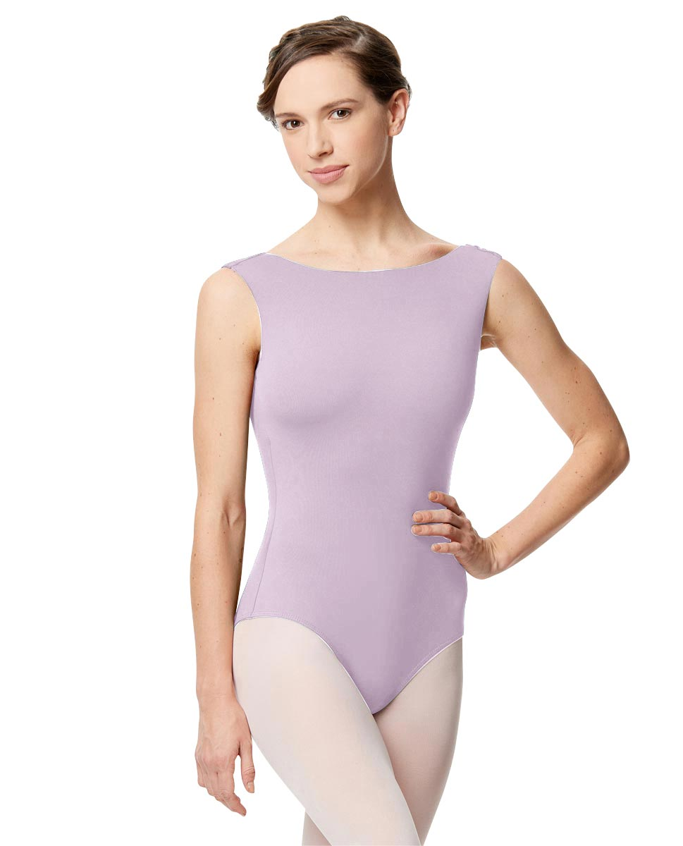 Adult Microfiber Low Back Tank Leotard Katia LIL